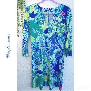 Lilly Pulitzer 3/4 Sleeve Pima Cotton Tee Dress